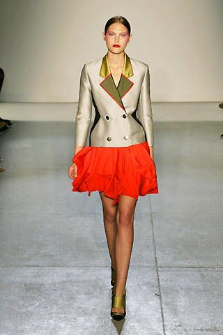 Jonathan Saunders Spring 2009 Ready&#45&#x3B;to&#45&#x3B;wear Collections &#45&#x3B; 002