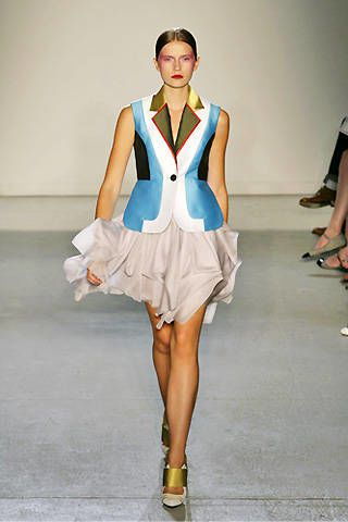 Jonathan Saunders Spring 2009 Ready&#45&#x3B;to&#45&#x3B;wear Collections &#45&#x3B; 003