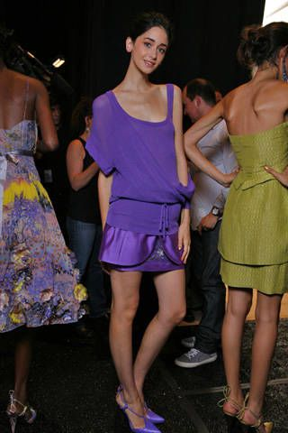 Tracy Reese Spring 2009 Ready-to-wear Backstage - 003
