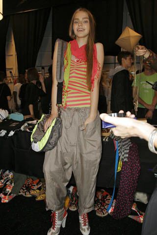 DKNY Spring 2009 Ready-to-wear Backstage - 002