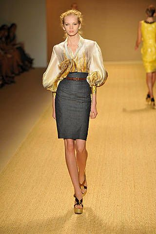 Monique Lhuillier Spring 2009 Ready&#45&#x3B;to&#45&#x3B;wear Collections &#45&#x3B; 003