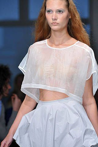 Jeremy Laing Spring 2009 Ready-to-wear Detail - 002