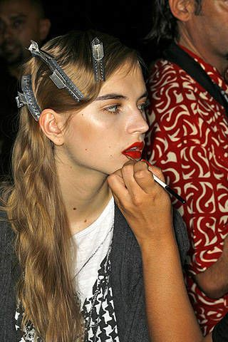 Proenza Schouler Spring 2009 Ready-to-wear Backstage - 003