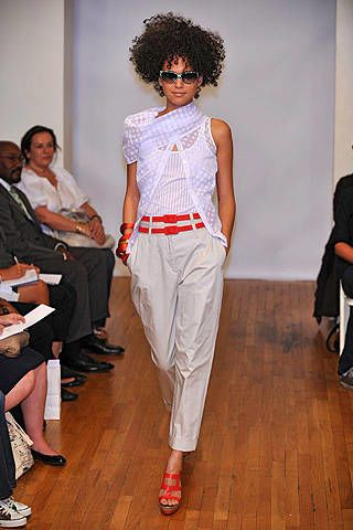 Stephen Burrows Spring 2009 Ready-to-wear Collections - 002