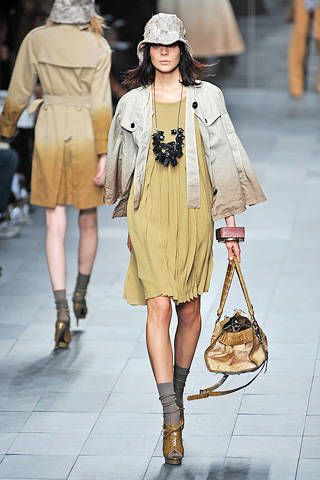 Burberry Prorsum Spring 2009 Ready-to-wear Collections - 003