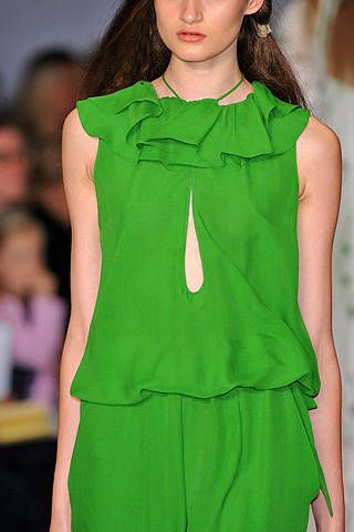 Ossie Clark Spring 2009 Ready-to-wear Detail - 002