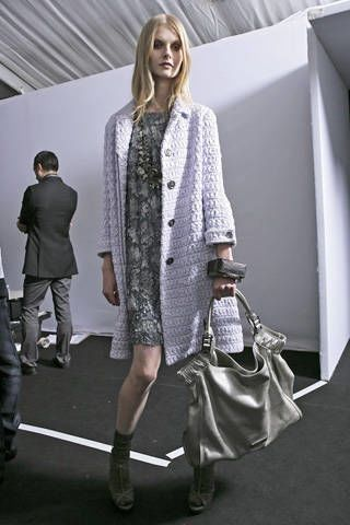 Burberry Prorsum Spring 2009 Ready-to-wear Backstage - 003