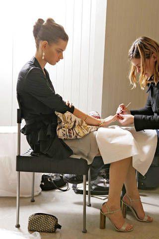 Prada Spring 2009 Ready-to-wear Backstage - 002