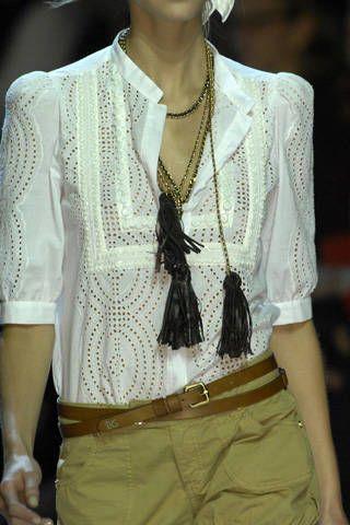 Blugirl Spring 2009 Ready-to-wear Detail - 002