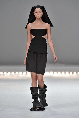 Rick Owens Spring 2009 Ready-to-wear Collections - 003