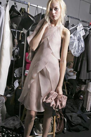 Giorgio Armani Spring 2009 Ready-to-wear Backstage - 002