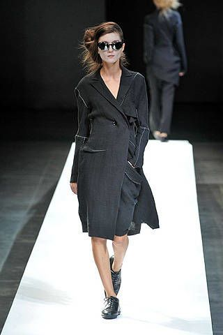Yohji Yamamoto Spring 2009 Ready-to-wear Collections - 003