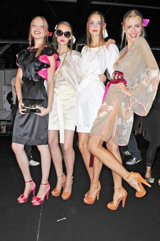 Blugirl Spring 2009 Ready-to-wear Backstage - 002