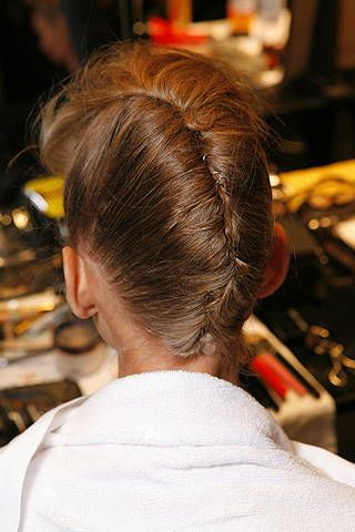 Max Mara Spring 2009 Ready-to-wear Backstage - 002