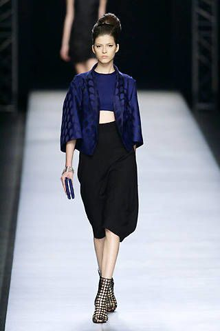 Yves Saint Laurent Spring 2009 Ready-to-wear Collections - 002