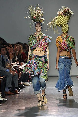 Junya Watanabe Spring 2009 Ready-to-wear Collections - 002