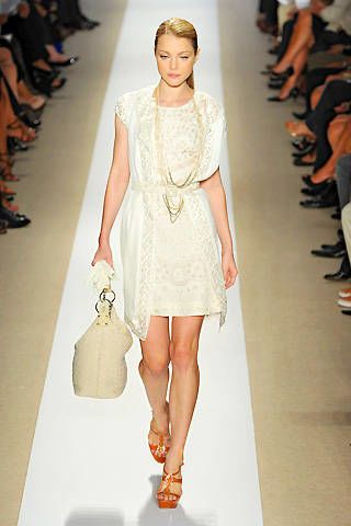 Badgley Mischka Spring 2009 Ready-to-wear Collections - 002