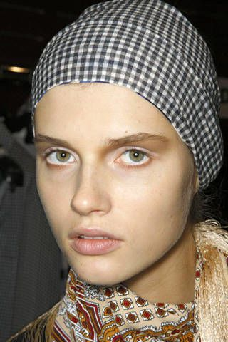 Wunderkind Spring 2009 Ready-to-wear Backstage - 003