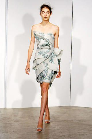 Marchesa Spring 2009 Ready-to-wear Collections - 002
