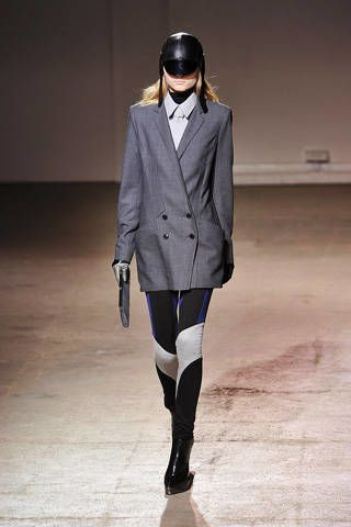 Clothing, Sleeve, Collar, Joint, Outerwear, Floor, Standing, Fashion show, Style, Coat,
