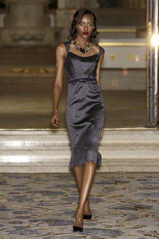Clothing, Dress, Brown, Human body, Shoulder, Human leg, Joint, Formal wear, One-piece garment, Style,