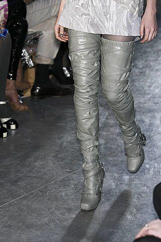 Textile, Joint, Leather, Fashion, Black, Thigh, Boot, Knee-high boot, Silver, Pocket,