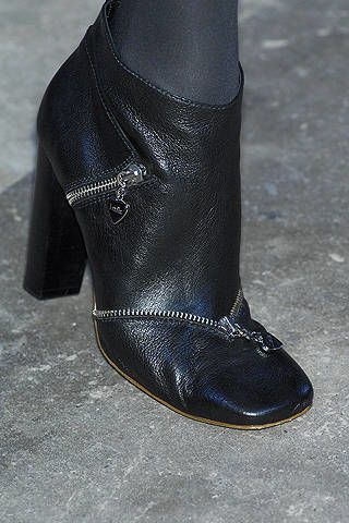 Leather, Black, Grey, Boot, Fashion design, Silver, Synthetic rubber,