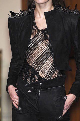 Clothing, Textile, Collar, Fashion, Black, Leather, Belt, Satin, Fashion design, Costume,