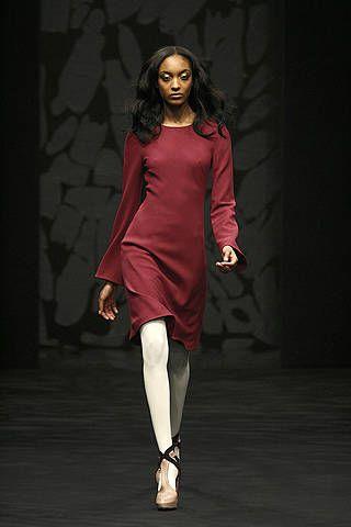 Clothing, Footwear, Dress, Human body, Shoulder, Joint, High heels, Fashion show, Style, Fashion model,