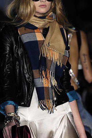Clothing, Textile, Outerwear, Jacket, Fashion accessory, Style, Fashion model, Street fashion, Fashion, Long hair,