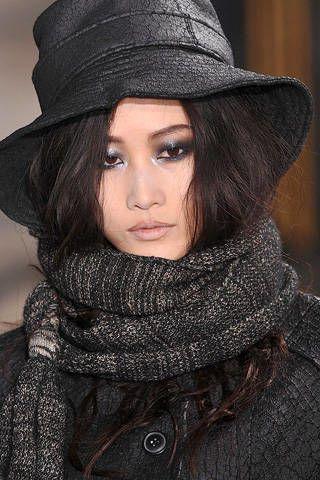 Clothing, Lip, Hat, Headgear, Costume accessory, Beauty, Fashion, Street fashion, Fashion model, Model,
