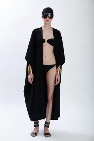 Clothing, Sleeve, Shoulder, Joint, Standing, Goggles, Style, Formal wear, Costume accessory, Fashion,