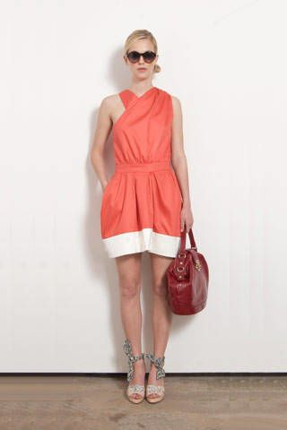 Clothing, Eyewear, Product, Brown, Human leg, Shoulder, Dress, Joint, Red, White,