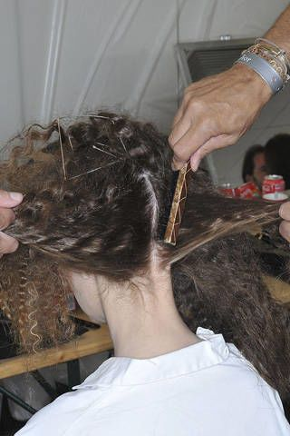 Hairstyle, Beauty salon, Style, Wrist, Hairdresser, Watch, Hair coloring, Barber, Long hair, Personal grooming,