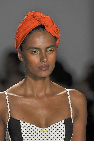 Clothing, Nose, Lip, Eyebrow, Style, Headgear, Beauty, Fashion, Neck, Model,