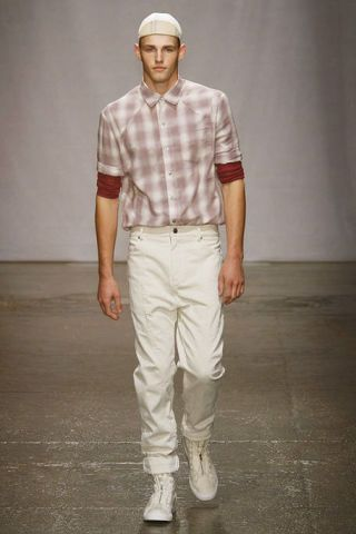 Clothing, Brown, Dress shirt, Collar, Sleeve, Human body, Shoulder, Shoe, Shirt, Textile,