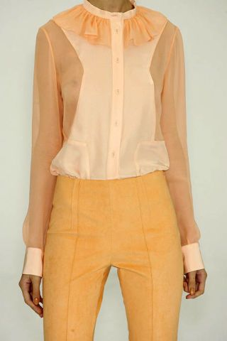 Brown, Product, Yellow, Sleeve, Collar, Shoulder, Khaki, Orange, Textile, Joint,