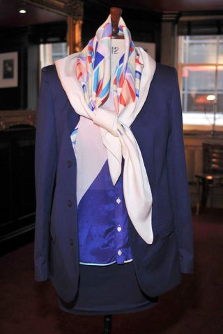 Clothing, Blue, Collar, Dress shirt, Sleeve, Textile, Outerwear, Coat, Formal wear, Electric blue,