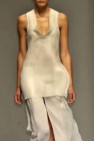 Clothing, Human body, Shoulder, Joint, Standing, White, Fashion, Neck, Chest, Muscle,