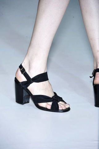 Footwear, Joint, Human leg, Sandal, Style, High heels, Foot, Fashion, Black, Toe,