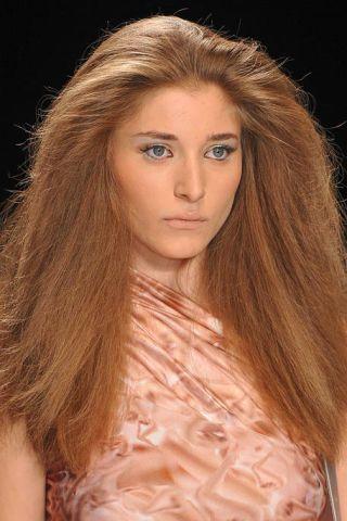 Lip, Brown, Hairstyle, Skin, Chin, Eyebrow, Eyelash, Style, Amber, Long hair,