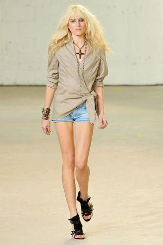 Clothing, Leg, Product, Brown, Sleeve, Skin, Human leg, Shoulder, Fashion show, Denim,