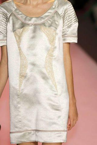 Sleeve, Shoulder, Joint, White, One-piece garment, Pattern, Fashion, Day dress, Design, Fashion design,