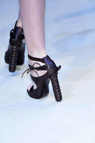 Blue, Human leg, Joint, Fashion, High heels, Black, Sandal, Costume accessory, Foot, Leather,
