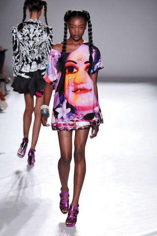 Clothing, Footwear, Leg, Fashion show, Pink, Style, Magenta, Fashion accessory, Fashion, Runway,