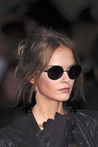 Clothing, Eyewear, Hair, Glasses, Ear, Vision care, Sunglasses, Lip, Hairstyle, Earrings,
