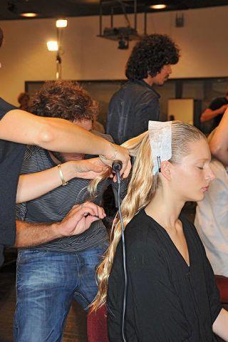 Hair, Hairstyle, Style, Hairdresser, Denim, Beauty salon, Long hair, Hair coloring, Barber, Hair accessory,