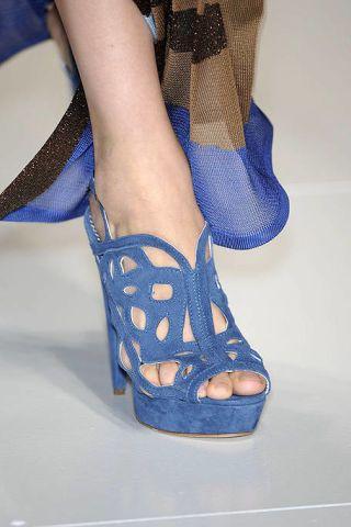 Blue, Leg, Human leg, High heels, Joint, Sandal, Electric blue, Foot, Fashion, Basic pump,