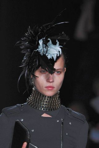 Headgear, Headpiece, Costume accessory, Fashion, Hair accessory, Darkness, Costume design, Costume, Fashion design, Fashion model,
