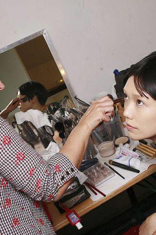Hairstyle, Eyelash, Plaid, Black hair, Tartan, Beauty, Long hair, Nail, Design, Makeover,